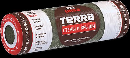 URSA TERRA Стены и крыши 1220х6000х100 мм