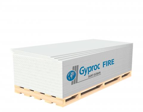 Гипсокартонный лист Гипрок Файэр НГ 12.5х1200х2500мм