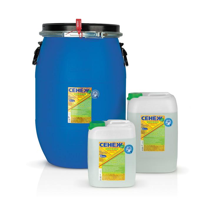 Сенеж Экобио бесцветный антисептик для дерева 65 кг