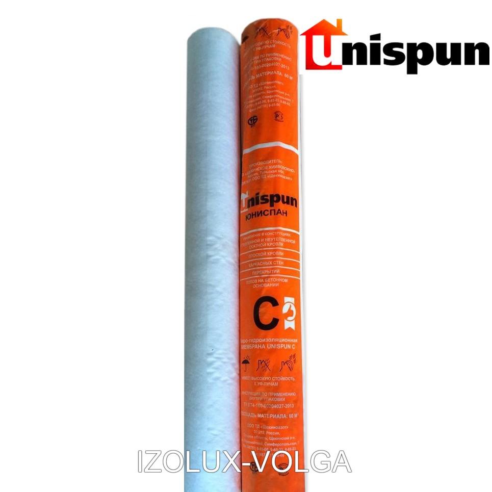 Мембрана строительная Unispun C 1.5 м гидроизоляция