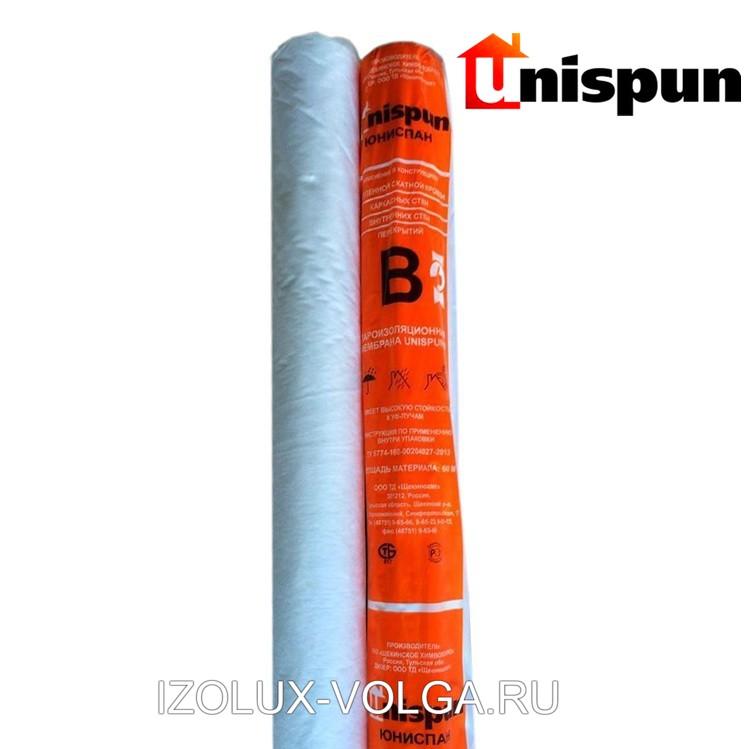 Мембрана строительная Unispun B 1.5 м универсальная пароизоляция