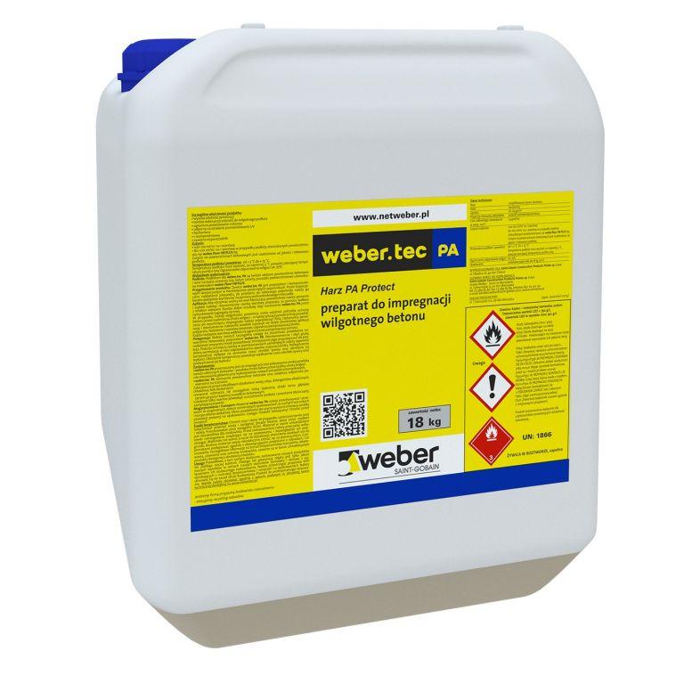 Защитная пропитка для бетонных полов weber.tec PA