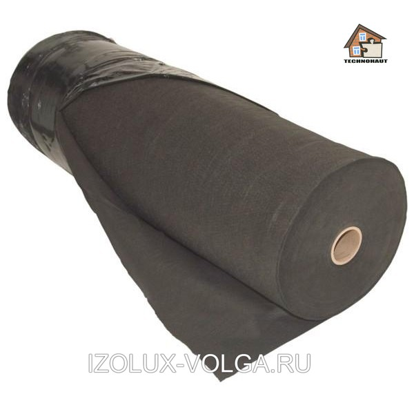 Геотекстиль Technohaut GEO-60 черный (70м2)