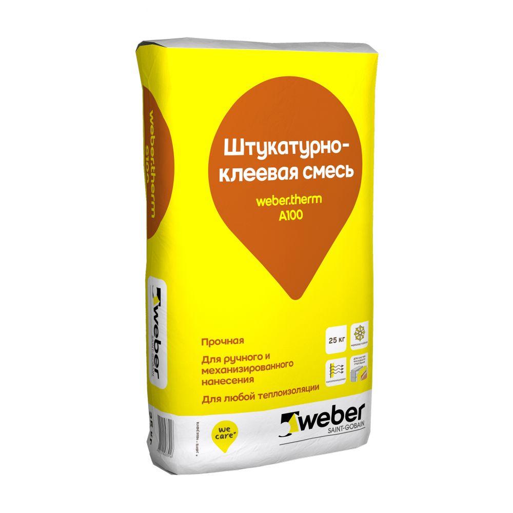 Штукатурно-клеевая смесь weber.therm A100