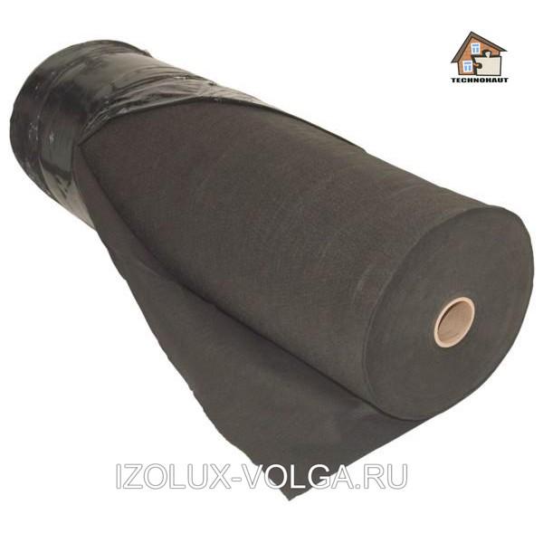 Геотекстиль Technohaut GEO-130 черный (70м2)
