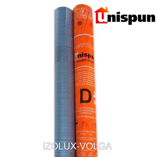 Мембрана строительная Unispun D серая 1,5 м