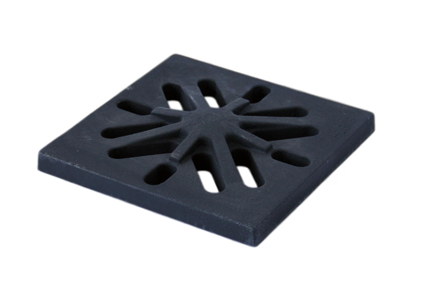 Решетка нержавеющая сталь 150x150 для трапа