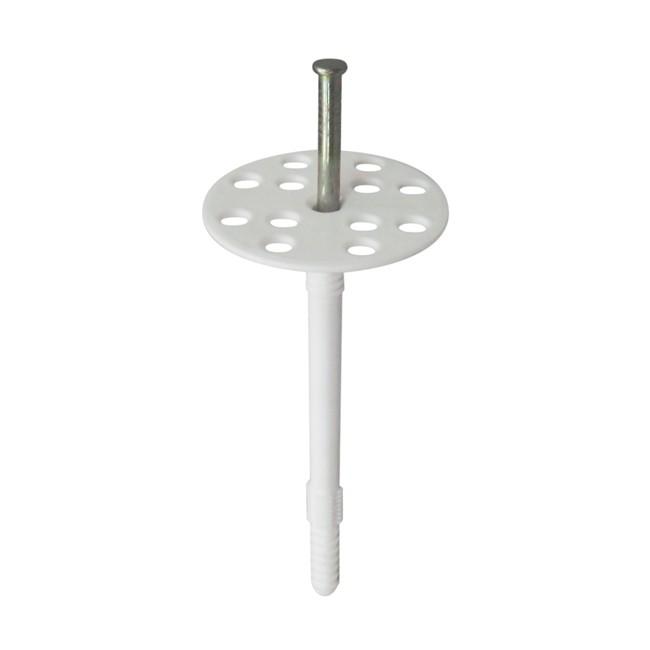 Дюбель для теплоизоляции Tech-Krep IZM 10х120 мм с металлическим гвоздем