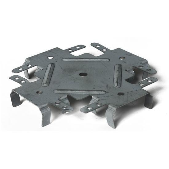Соединитель одноуровневый для ПП-профилей 148х56х20x0.7 мм