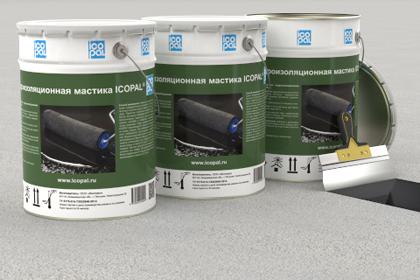 Мастика гидроизоляционная ИКОПАЛ (20 кг)