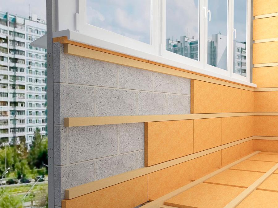 Утепление балкона изнутри, как сделать лоджию теплее