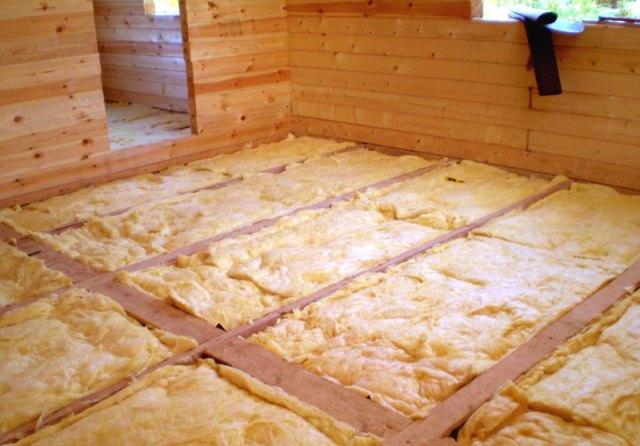 Звукоизоляция пола в деревянном доме